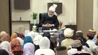 Children's Class, 3 May 2009, Educational class with Hadhrat Mirza Masroor Ahmad(aba)