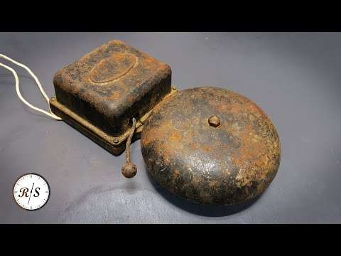 Antique Fire Bell Restoration