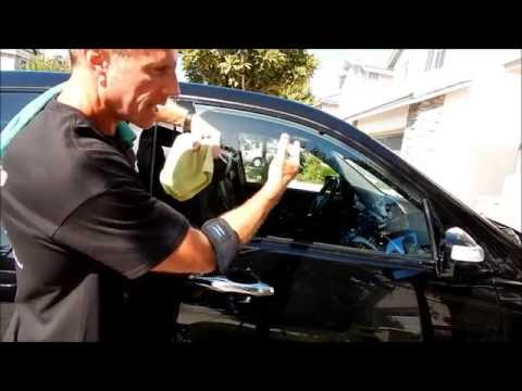 Car Window Cleaning: updated technique part 2