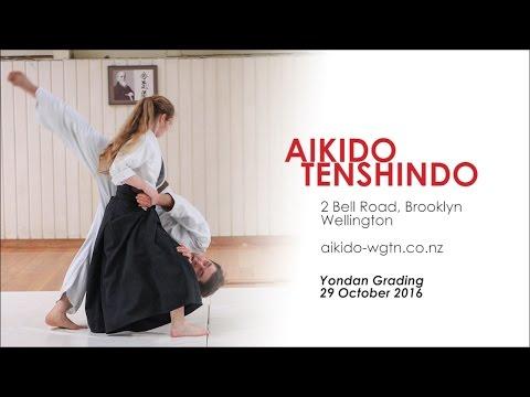 Aikido Tenshindo Wellington (NZ) - Oct 2016 Yondan grading