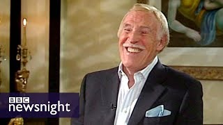 Interview with Sir Bruce Forsyth – Newsnight archives (2009)