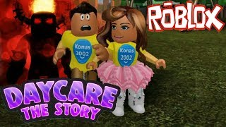 Roblox Daycare Story Monster Attack !    Roblox Gameplay    Konas2002