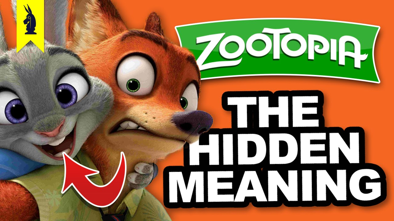 The Hidden Meaning In Zootopia Earthling Cinema Youtube