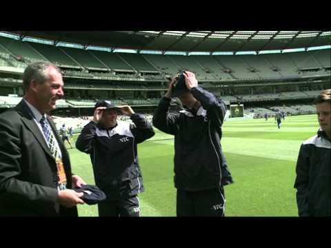 Team Vic Under15's Cricket Cap Presentation