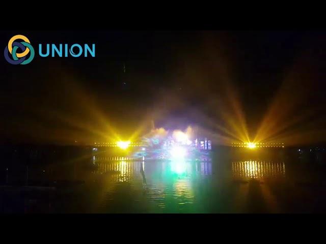Màn chiếu sương- biểu diễn rồng bay tại Ninh Kiều Cần Thơ | UNION