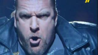TRIPLE H's  BEST ENTRANCE EVER!-HD