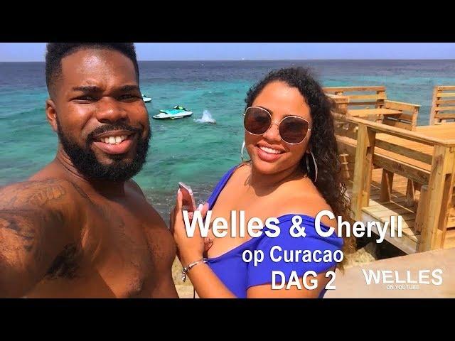 Welles en Cheryll op Curacao (Dag2)