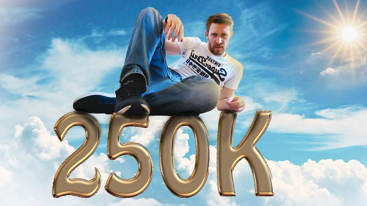 250K SUBSCRIBERS MAXIMUM HAPPY PLEASE!!!! Live talk on Discord