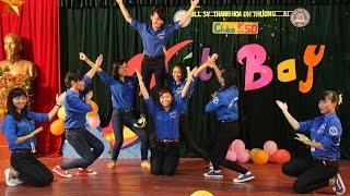 """Nhảy """"Dấu chân tình nguyện""""_CHÀO K50 THANH HÓA VCU"""