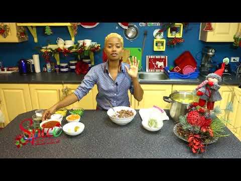 How to make Trinidad and Tobago Chirstmas Food