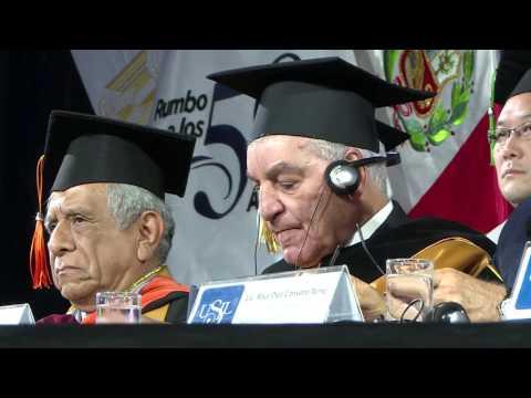 Ceremonia Doctor Honoris Causa al Dr. Zahi Hawass - USIL