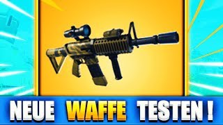 NEUES UPDATE!! | WIR TESTEN DIE NEUE WAFFE!! | TURNIER TRAINING - Fortnite Battle Royale