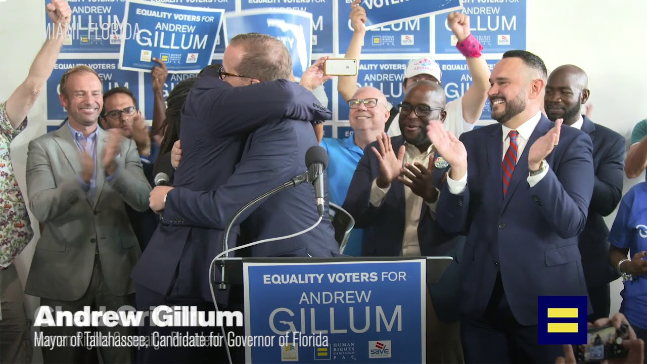 Florida Democrat Andrew Gillum Comes Out As Bisexual