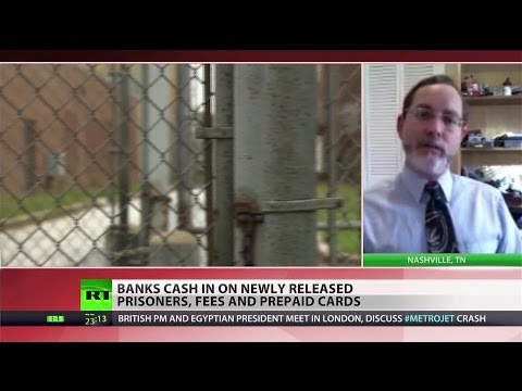 Financial companies are preying on released prisoners – legal advocate