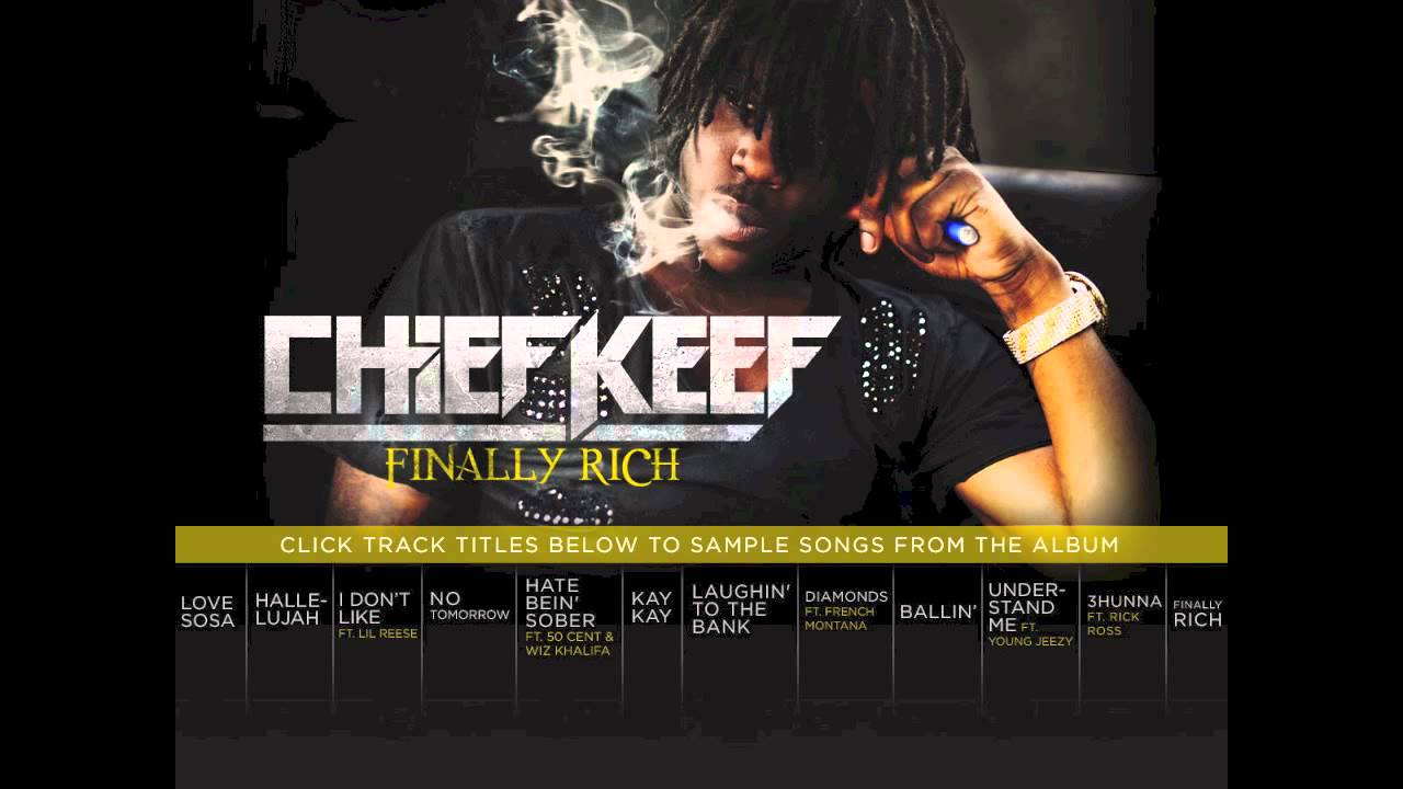 "Chief Keef ""Finally Rich"" Album Snippets - YouTube"