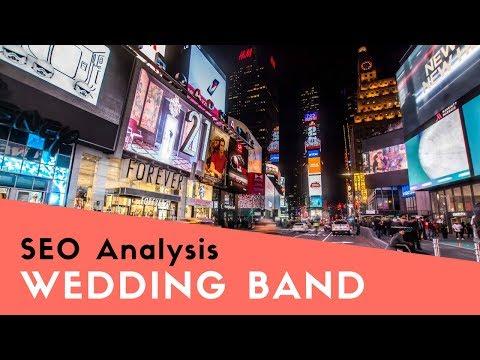SEO Analyis & SEO Roadmap for Wedding Band Website