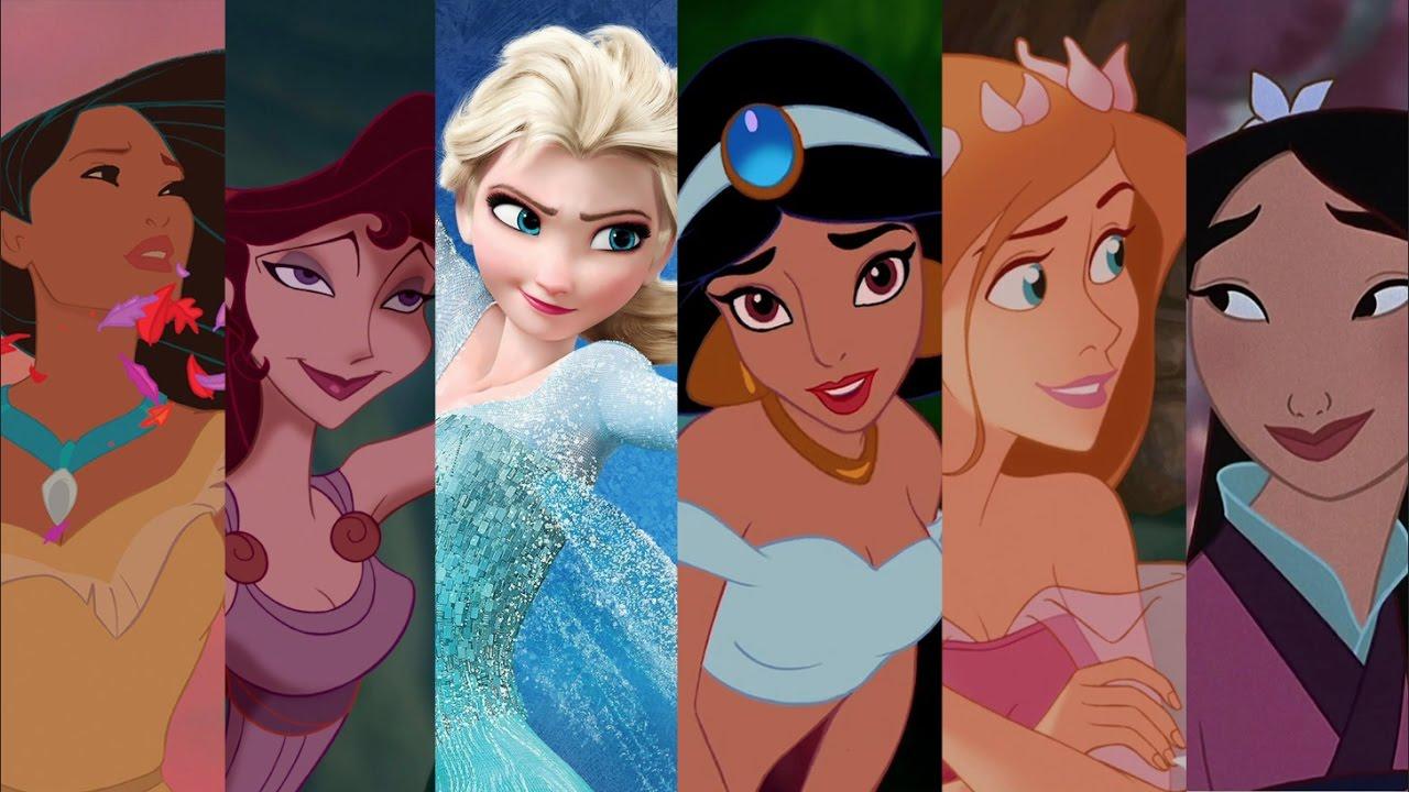 Los savi n feat las princesas medley de disney a - Muebles de princesas disney ...
