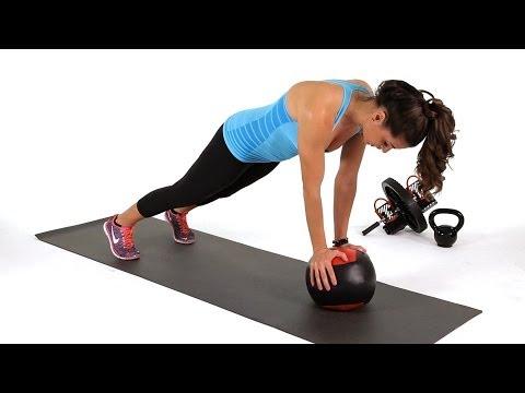 How to Do Mountain Climber on Medicine Ball | Abs Workout