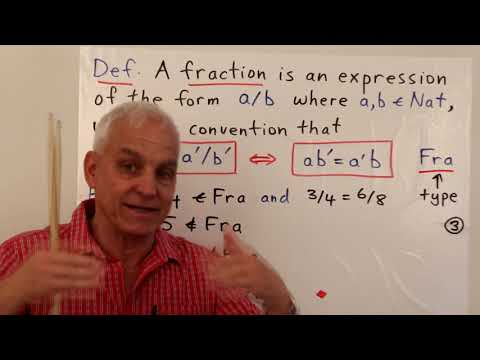 Famous Math Problems 24a: How To Set Up Fractions I | N J Wildberger