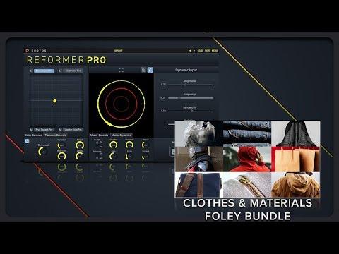 Krotos Reformer Pro Clothes & Materials Foley Bundle