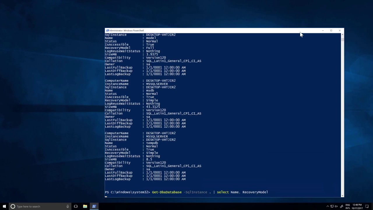 walk-thru: installing modules from the powershell gallery – dbatools