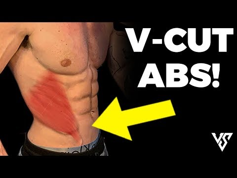 5 Minute V Cut Abs (NO EQUIPMENT NEEDED!)