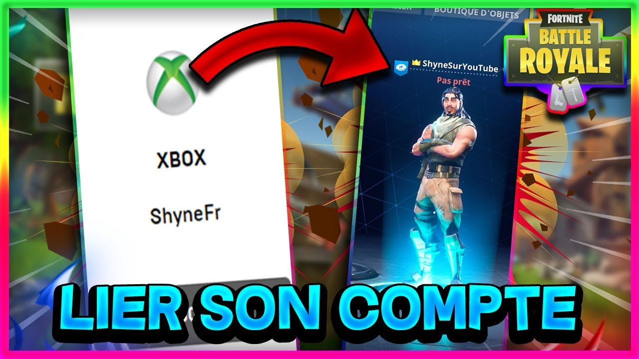 comment lier son comtpe xbox a epic games tres facilement - epic games fortnite proteger son compte