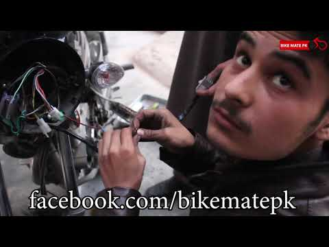 SUZUKI GS 150 WITH GEAR INDICATOR | HOW TO INSTALL | AUTO CARE
