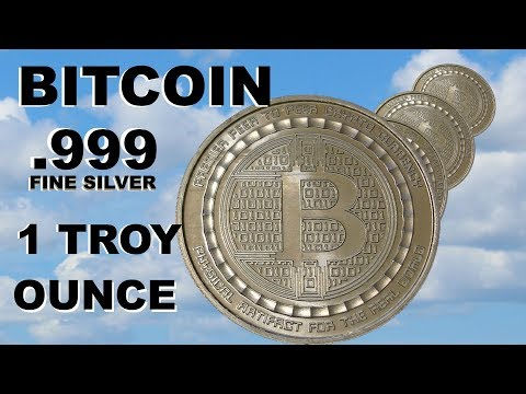 I Got A BITCOIN Silver Round   1 Troy Ounce  999 Fine Silver