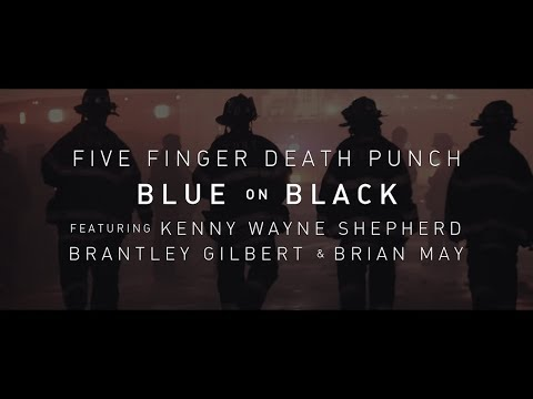 Aaron Michael - LISTEN: Brantley Gilbert with Five Finger Death Punch Blue On Black