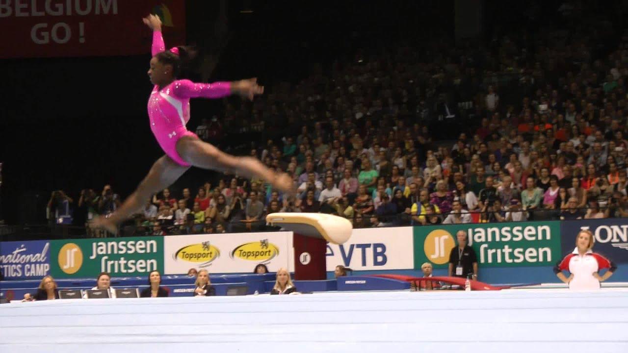 Simone Biles Floor World Championships All Around Final