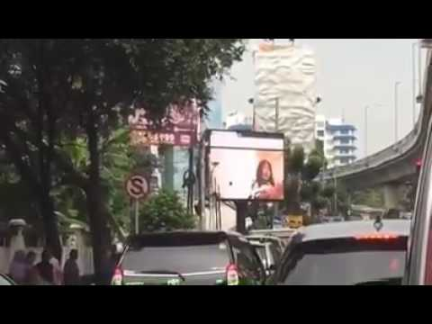 Videotron TV Billboard LED Display Reklame xxx in jakarta