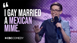 """How many people do you know who are gay divorced?"" 