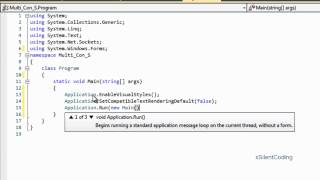 C# Sockets Multiple Connection 2 - Receiving Data/Handling Disconnection