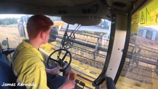 Harvest 2015 - Combining Barley thumbnail