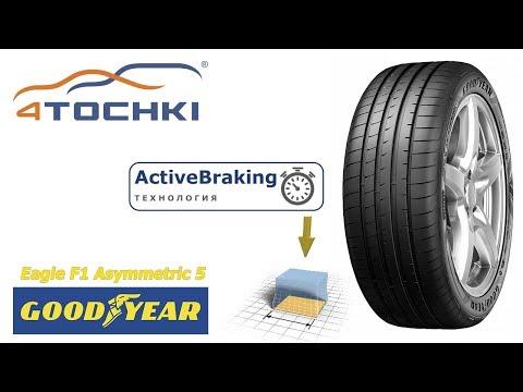 Goodyear Eagle F1 Asymmetric 5 - Технология Active Braking