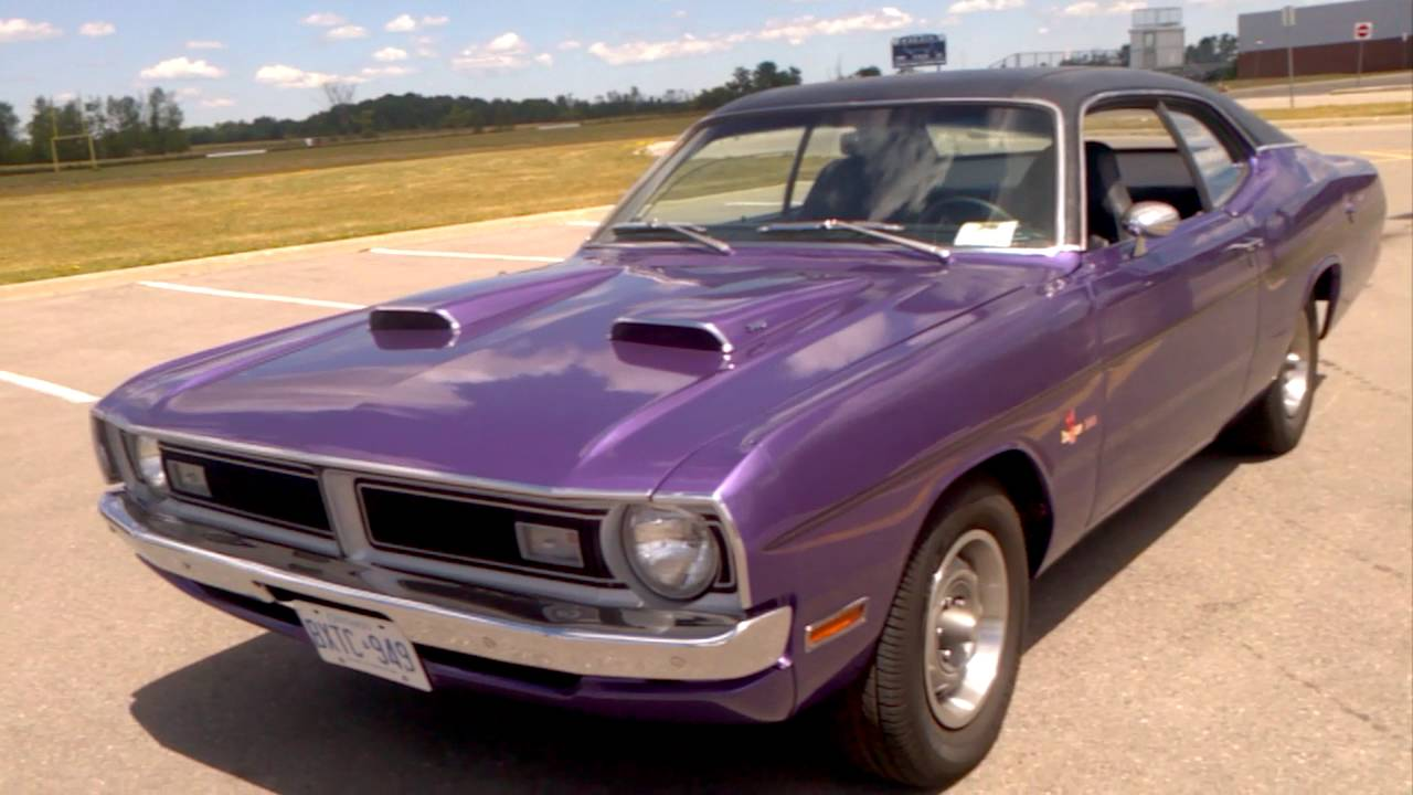 1971 Dodge demon Autos Car For Sale in toronto, Ontario - YouTube