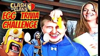 Egg Trivia Challenge | Clash of Clans | BF vs GF Challenge