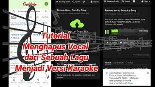 Download Cara Menghapus Vocal Lagu MP3 Menjadi Versi Karaoke Tanpa Menggunakan Aplikasi
