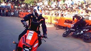 KTM Stunt Show 2017 | KTM RC 200 | KTM Duke 200 Must Watch HD