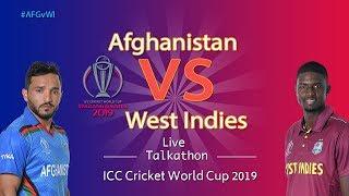 Afghanistan vs West Indies #AFGvWI - LIVE Talkathon - DD Sports-ICC Cricket World Cup 2019