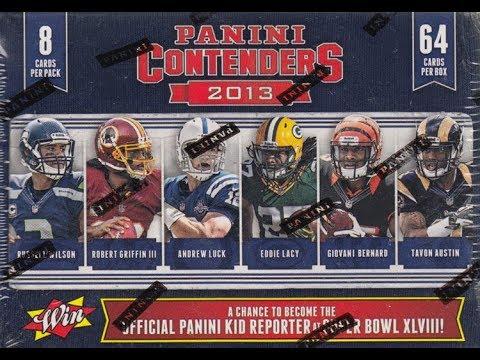 2013 Panini Contenders Football Break - BB #59 - February 17th, 2018