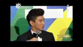 第20届上海电视节白玉兰奖颁奖典礼红毯 专访吴奇隆Nicky Wu郭宝昌