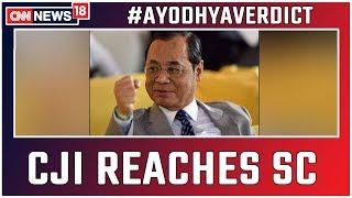 Ayodhya Verdict: CJI Gogoi Reaches SC; Ruling on Ram Mandir-Babri Masjid Dispute Within Minutes
