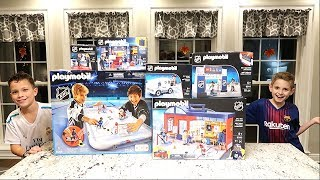 Kids Hockey Stanley Cup Final With Playmobil Nhl Insane Setup