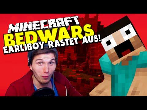 EARLIBOY RASTET AUS! ✪ Minecraft Bedwars Woche Tag 70 mit Earliboy