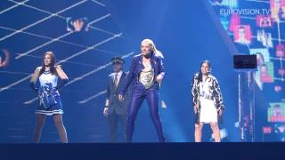 Valentina Monetta - The Social Network Song (San Marino) 2nd Rehearsal