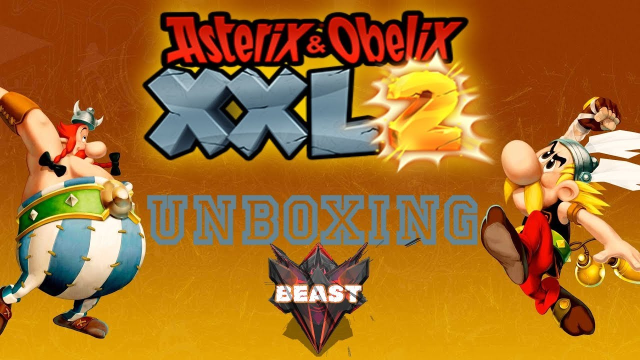 Unboxing Asterix Obelix Xxl 2 Limited Edition Ps4 Youtube