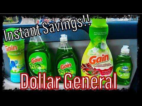 Dollar General Couponing || Instant Savings & High Value Gain Coupons! || koko factory