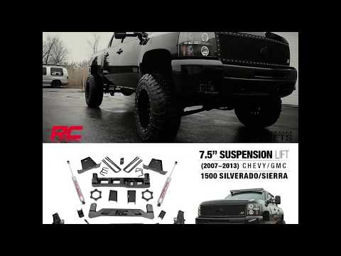 """7.5"""" Rough Country Lift Kit for Chevy/GMC 1500 (07'-13')"""